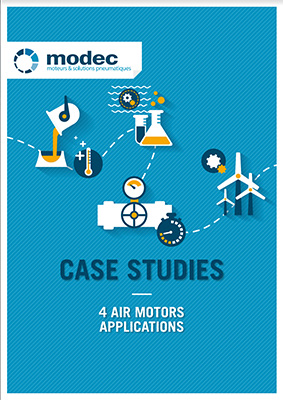 Case studies : 4 air motors applications - MODEC