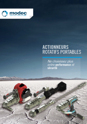 Actionneur rotatif portable catalogue