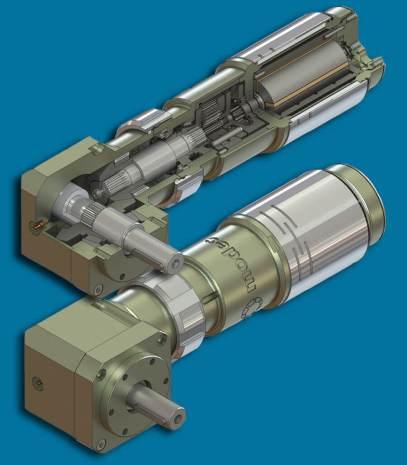 moteurs pneumatiques modec 3D