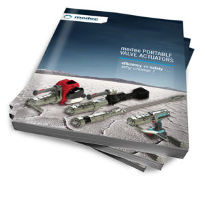 Portable valve actuator 3D catalogue