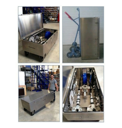 kit box for portable valve actuators