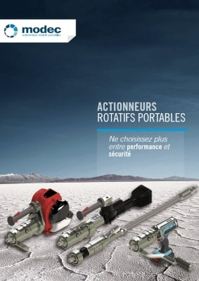 Catalogue Modec d'actionneur rotatifs portables