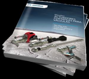 Catalogo de actuadores portatiles para valvulas