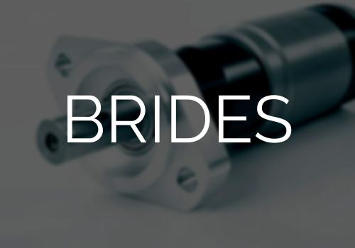 Brides pour moteur pneumatique