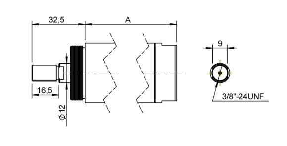 Sorties FI1 groupe 1 pour moteur pneumatique