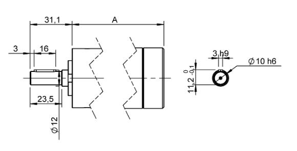 Sorties 004 groupe 2 pour moteur pneumatique
