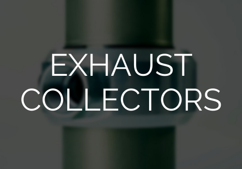 Exhaust collector option for air motor