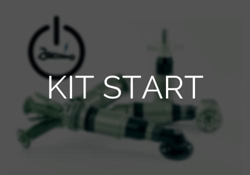 Option kit start pour moteur pneumatique