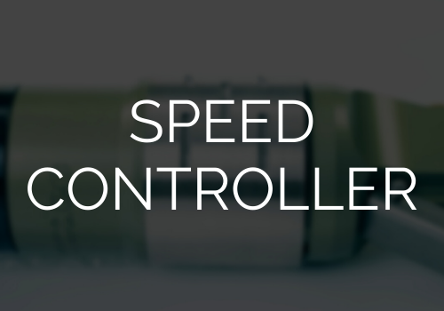Speed control accessories for air motors