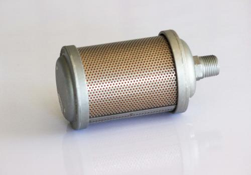 Accessoire silencieux d'échappement à grand débit pour moteur pneumatique